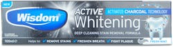 Wisdom Active Whitening Fluoride Toothpaste Fresh Mint 100ml