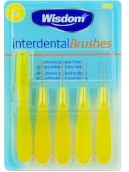 Wisdom Interdental Brushes 0.7mm 5s