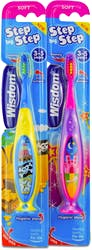 Wisdom Step by Step Soft Toothbrush  (3-5 years) 1 Toothbrush