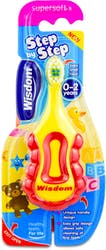 Wisdom Step By Step Super Soft Toothbrush (0-2 Years) 1 Pack