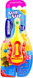 Wisdom Step by Step Super Soft Toothbrush  (0-2 years) 1 s'