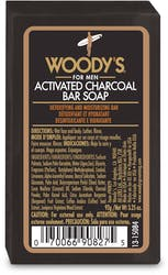 Woody's Activated Charcoal Soap 92g